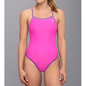 TYR reversible one piece swimsuit